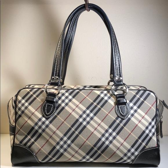 c9c6b3846d3b Burberry Handbags - Authentic Burberry Nova Check Satchel Bag